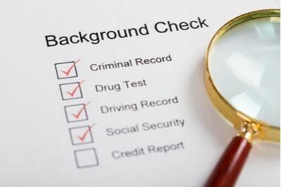 Virginia background check