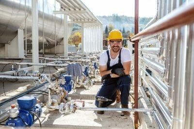 energy industry employee
